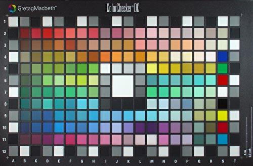 Photography Color Chart