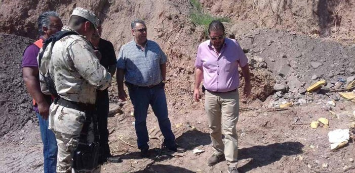 Trabaja PRI en desazolve de la 45 Zona Militar