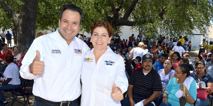 Ofrecen Miranda y Astiazarán beneficios de Energía Sonora