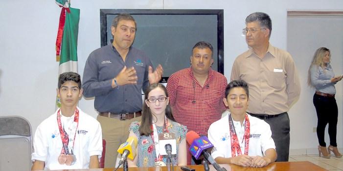 Reconoce Nogales a medallistas nacionales