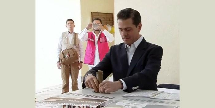 México vive fiesta de la democracia, las elecciones, una jornada histórica: EPN