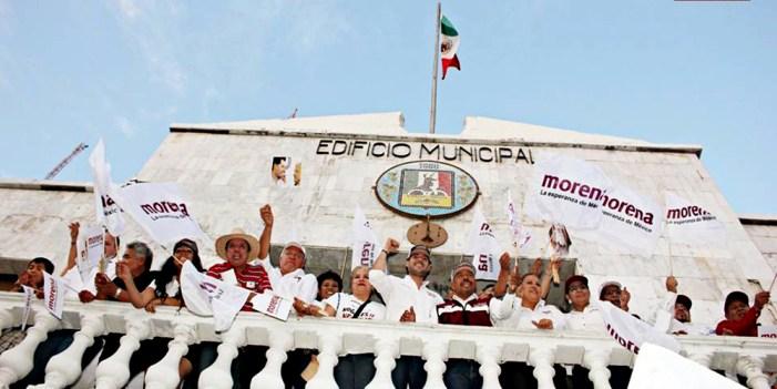 Complementan Ayuntamiento de Nogales