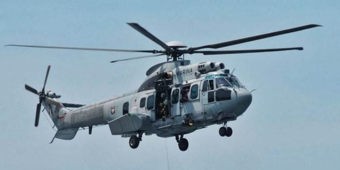 Helicóptero de la Marina se desploma en el Golfo de California