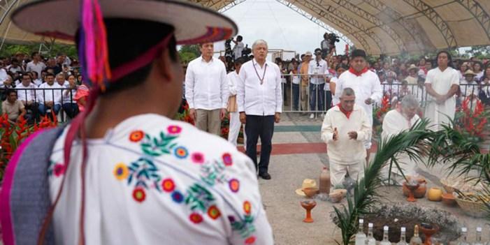 Tren Maya, acto de justicia para el sur-sureste de México: López Obrador