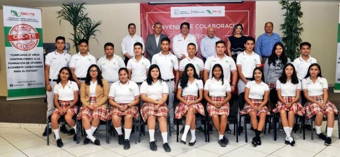 Más del 80 por ciento de alumnos en Cecyte está becado en Sonora: Director General
