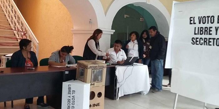 Operan el cien por ciento de las casillas en Monterrey