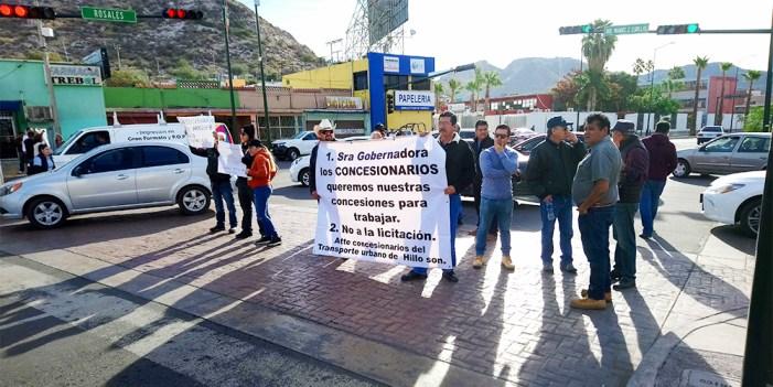 Debe Gobierno de Sonora suspender convocatoria de Transporte Público