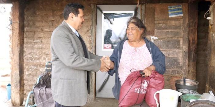 Desarrollo Social lleva beneficios a pobladores de Mascareñas