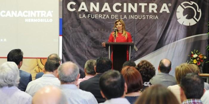 Destaca Canacintra desarrollo económico de Sonora