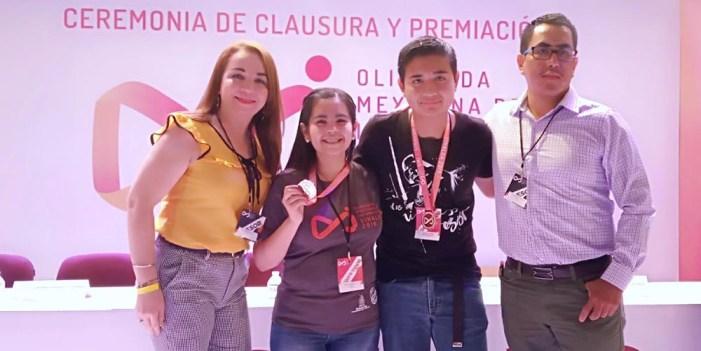Gana CECyTE Sonora dos medallas de bronce en Olimpiada de Informática