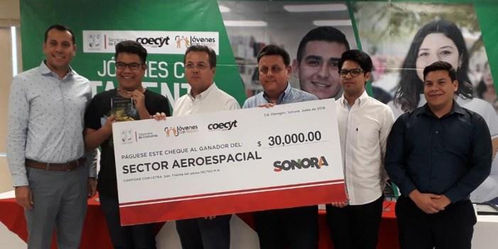 """Entrega Secretaría de Economía premios a """"Jóvenes con Talento Cajeme 2019"""""""