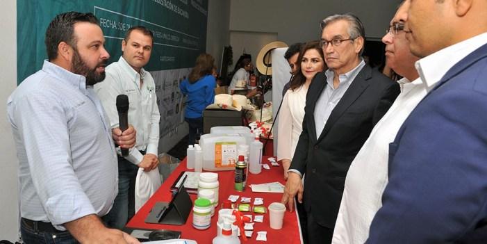 Inaugura Jorge Vidal Expo Business en Ciudad Obregón