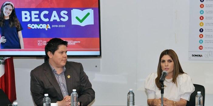 Lanza SEC convocatorias para Becas Sonora 2019-2020