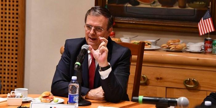 Habrá negociación con EUA sobre posibles aranceles: Ebrard