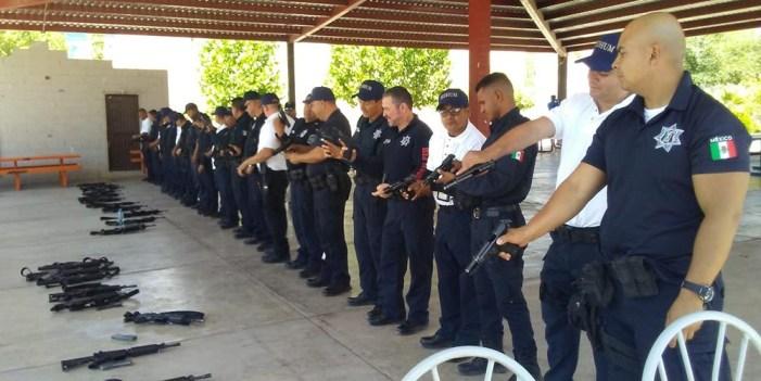 Ofrecen seminario táctico de operaciones especiales a Policías Municipales