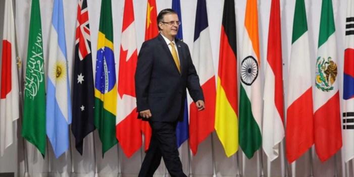 G-20 incluyó migración como tema principal gracias a México Ebrard