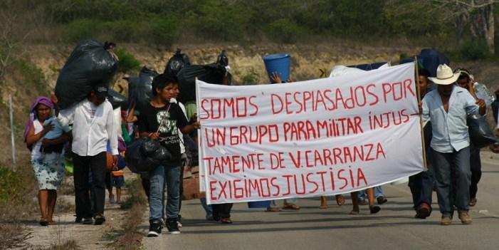 Urgen en México leyes y recursos para atender desplazamiento forzado