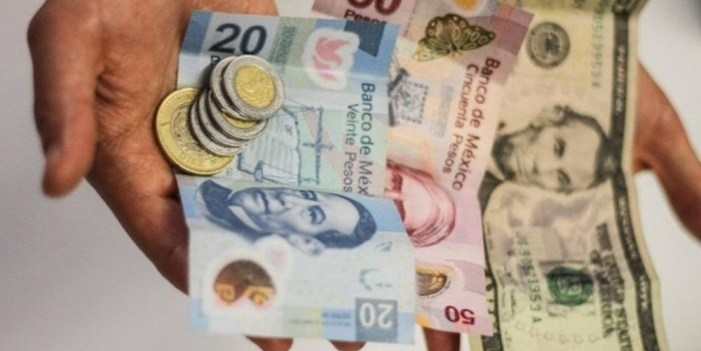 Peso mexicano suma quinta semana consecutiva de pérdidas