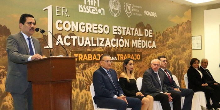 Inicia primer congreso estatal de actualización médica de Isssteson