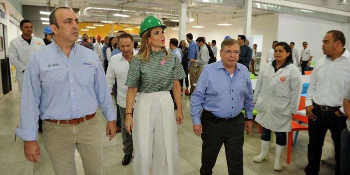 Inaugura Pavlovich expansión de la planta Norson