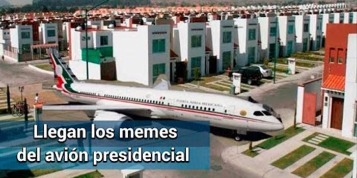"""""""Los memes del avión, buenísimos"""": AMLO"""