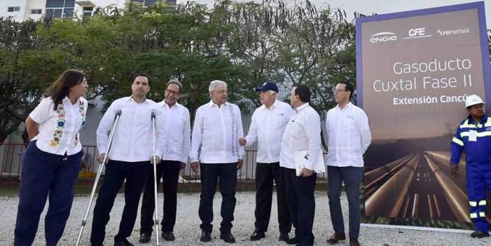 No más apagones en Yucatán: López Obrador