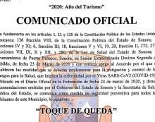 """Decretan """"Toque de queda"""" en Puerto Peñasco"""
