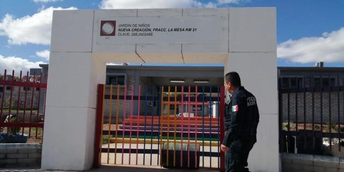 Autoridades vigilan planteles educativos