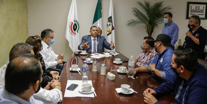 Atiende Congreso a dirigentes sindicales afiliados a Isssteson