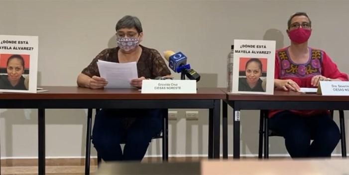 ¿Dónde está Mayela Álvarez?