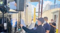 Comienza inspección conjunta de carga