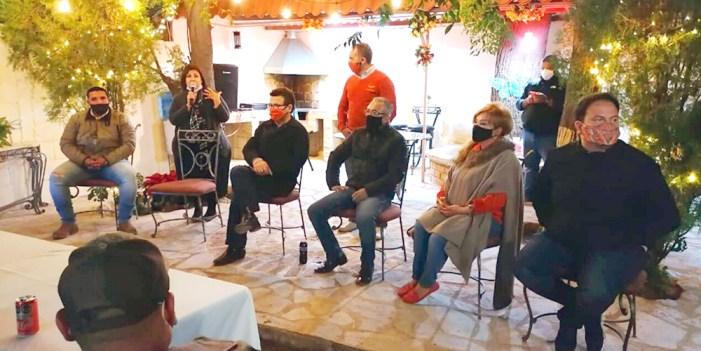 Ricardo Bours y representantes de MC visitan Agua Prieta y Cananea