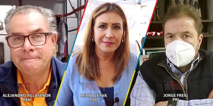PRI, PAN, PRD; Alianza en juego