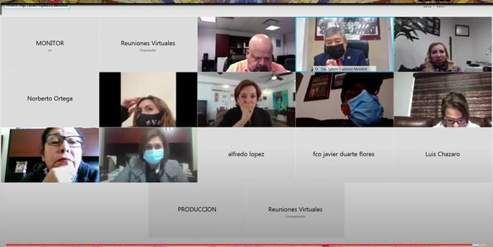 Comisión especial Covid-19 del Congreso de Sonora, escuchó lo que todos saben