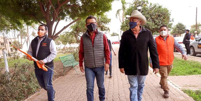 Cumple Ricardo Bours agenda al Sur de Sonora