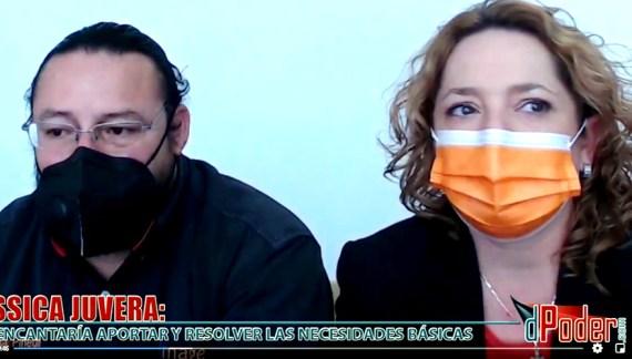 JESSICA JUVERA, busca diputación por el V Distrito