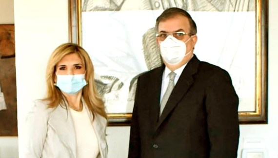 Se reúne Claudia Pavlovich con Marcelo Ebrard
