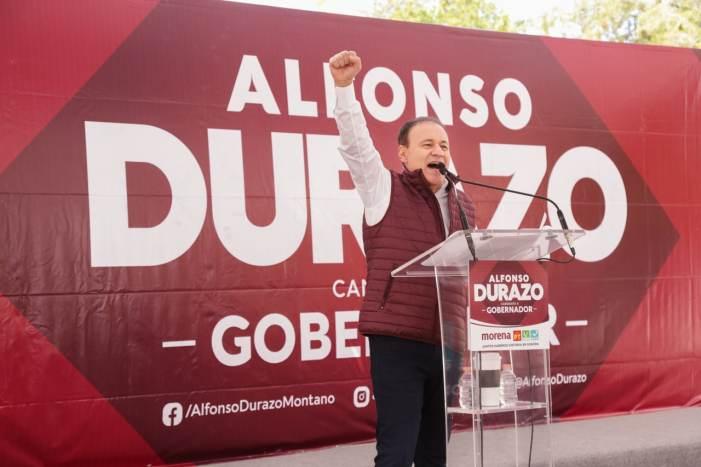 Es momento del cambio; ya le toca a Empalme: Alfonso Durazo