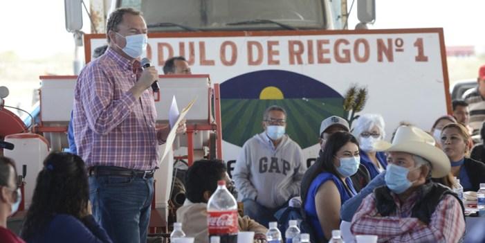 """El """"Borrego"""" Gándara apuesta a comunidades rurales"""