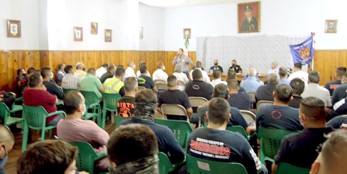 "Jorge Freig hace compromiso con cuerpo de bomberos ""Gustavo L. Manríquez"""