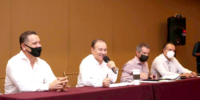 Alfonso Durazo presenta avances de entrega recepción