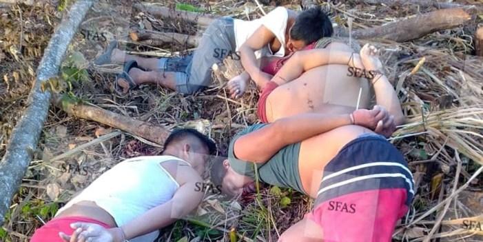Cuatro ejecutados en tierra del presidente López Obrador