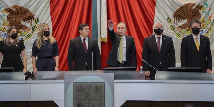 En sesión solemne del Congreso del Estado, rinde protesta Alfonso Durazo