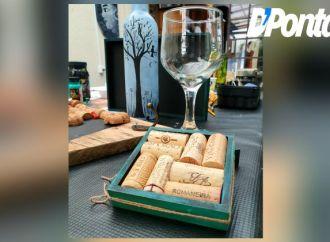 Vinhos & Viagens: Rolhas e garrafas de vinho podem virar decoração!