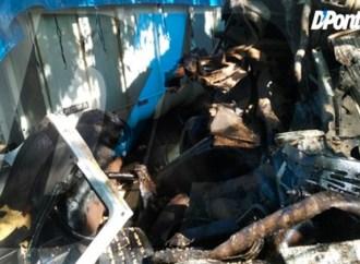 Vídeo: Acidente entre dois caminhões e um carro deixa vítima inconsciente no Guaragi
