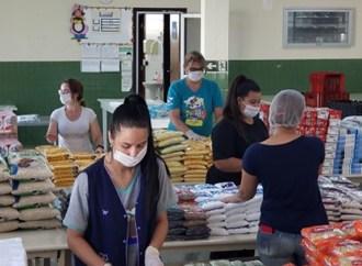 Secretaria Municipal de Educação realiza nova entrega de alimentos em PG