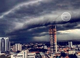 Imagem que mostra possível OVNI no céu de PG viraliza na web