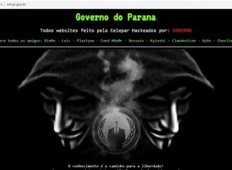 Sites da Celepar são hackeados e ficam fora do ar neste sábado (16)