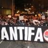 Protestos em Curitiba acabam com oito pessoas presas e um policial ferido