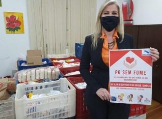 FASPG recebe de hamburguerias mais de 1,2 mil quilos de alimentos para o 'PG sem Fome'